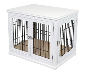 best_wood_wire_dog_crate